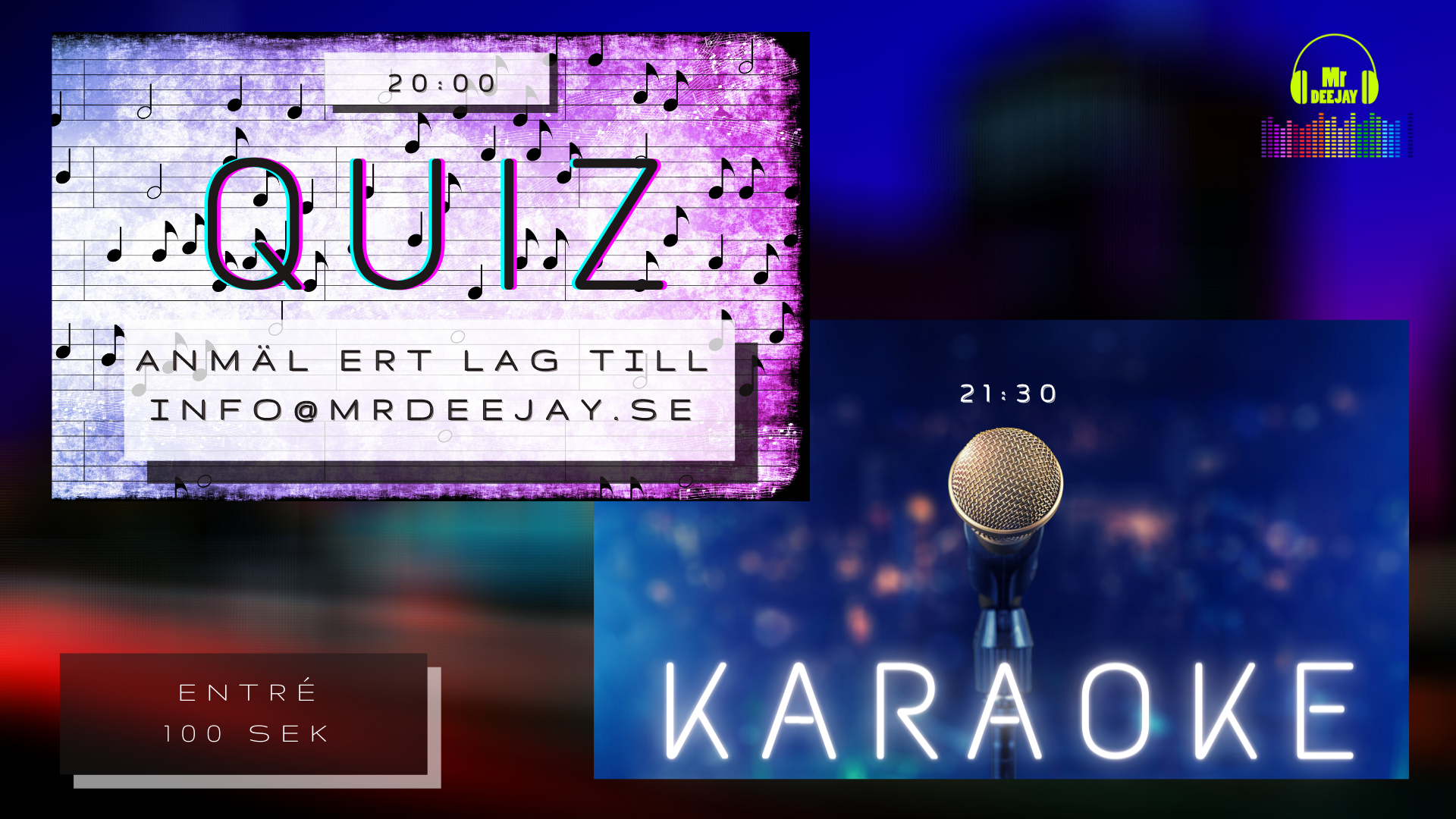 Quiz & Karaoke 28/11 post thumbnail